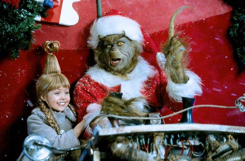 12 Weihnachtsfilme, der Grinch