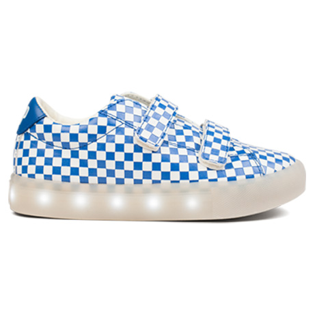 Relektierende Kindemode Sneaker von Pop Shoes