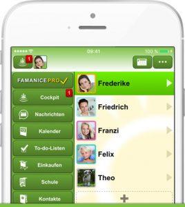 Familien Eltern App Famanice App
