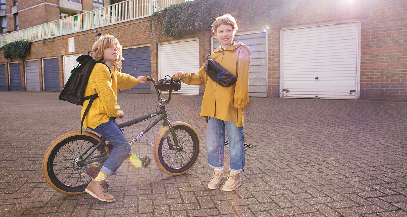 Goodordering: Fahrradtaschen für coole Kids