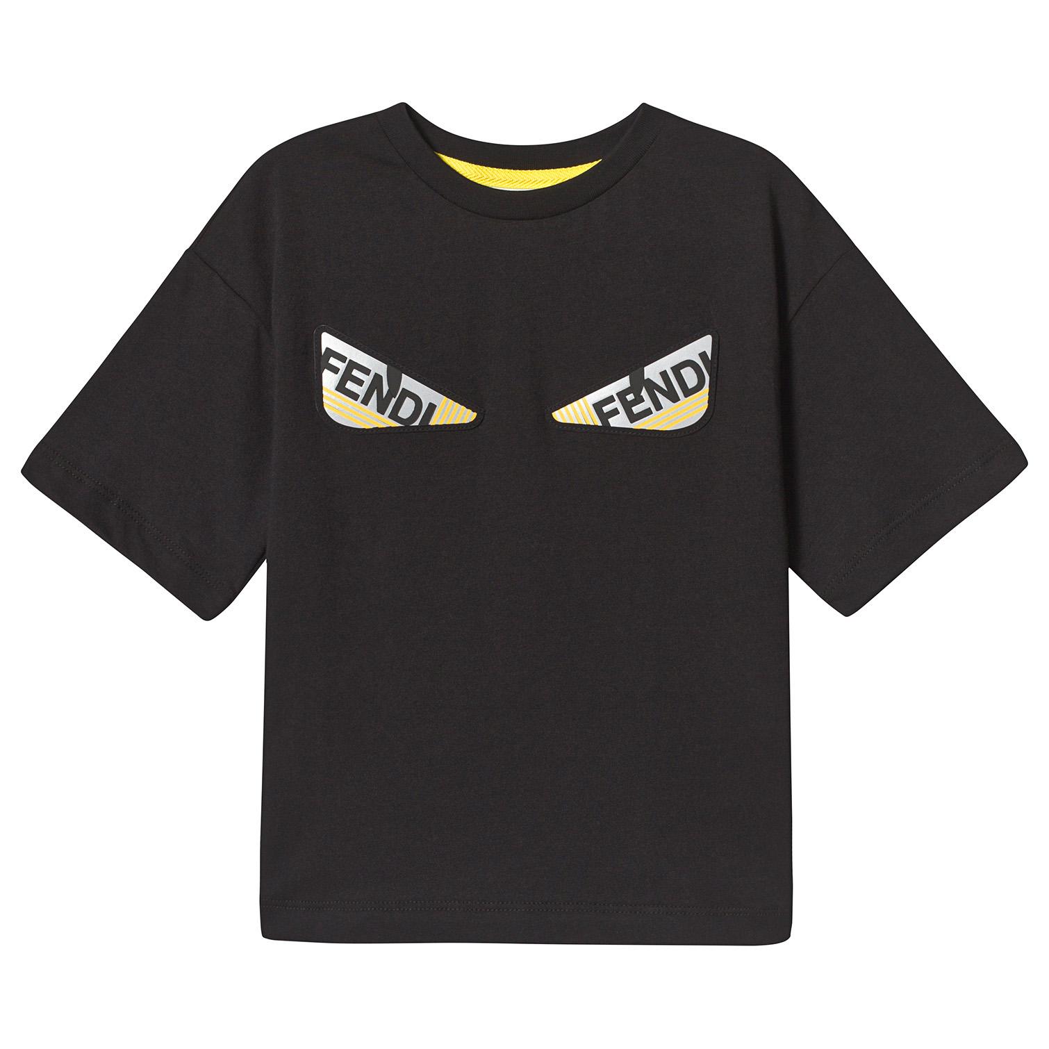 Relektierende Kindemode Shirt von Fendi