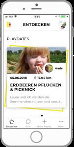 Familien Eltern App Kidpick App