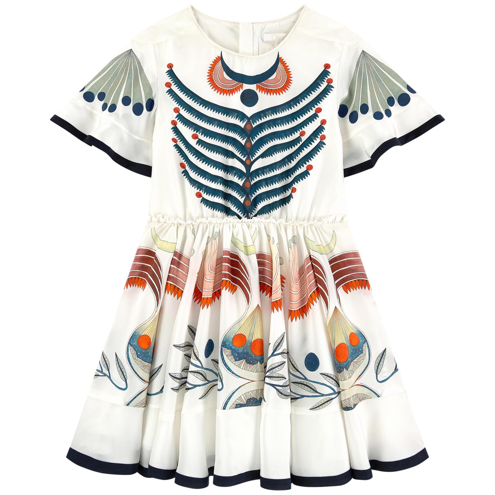 Kleid von Chloé ss19