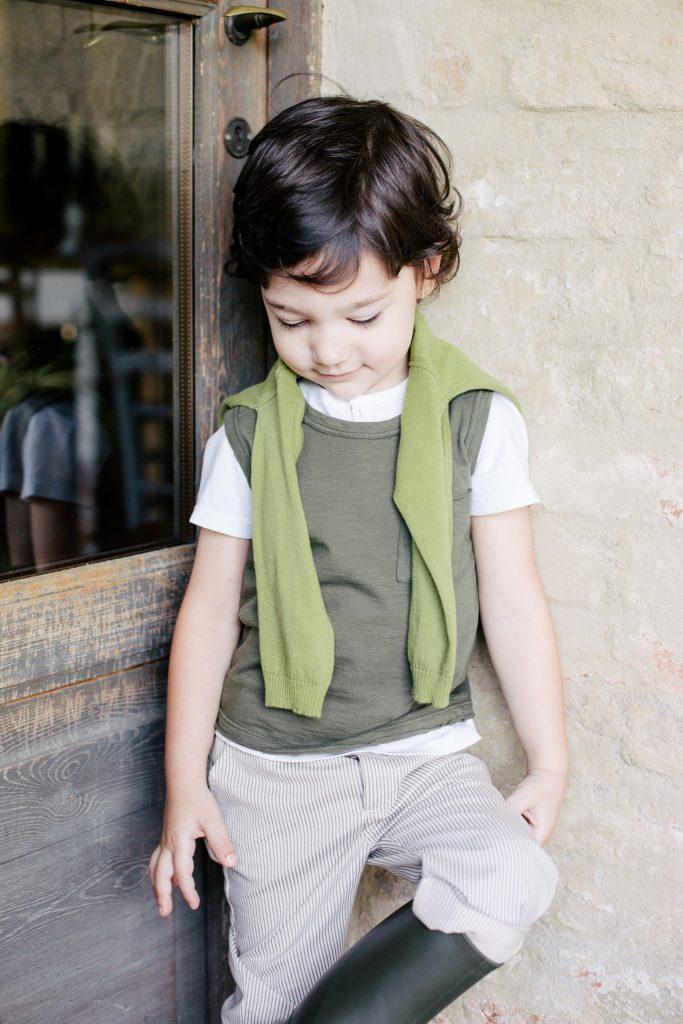 Kind in Zhoe & Tobiah Kampagne ss19