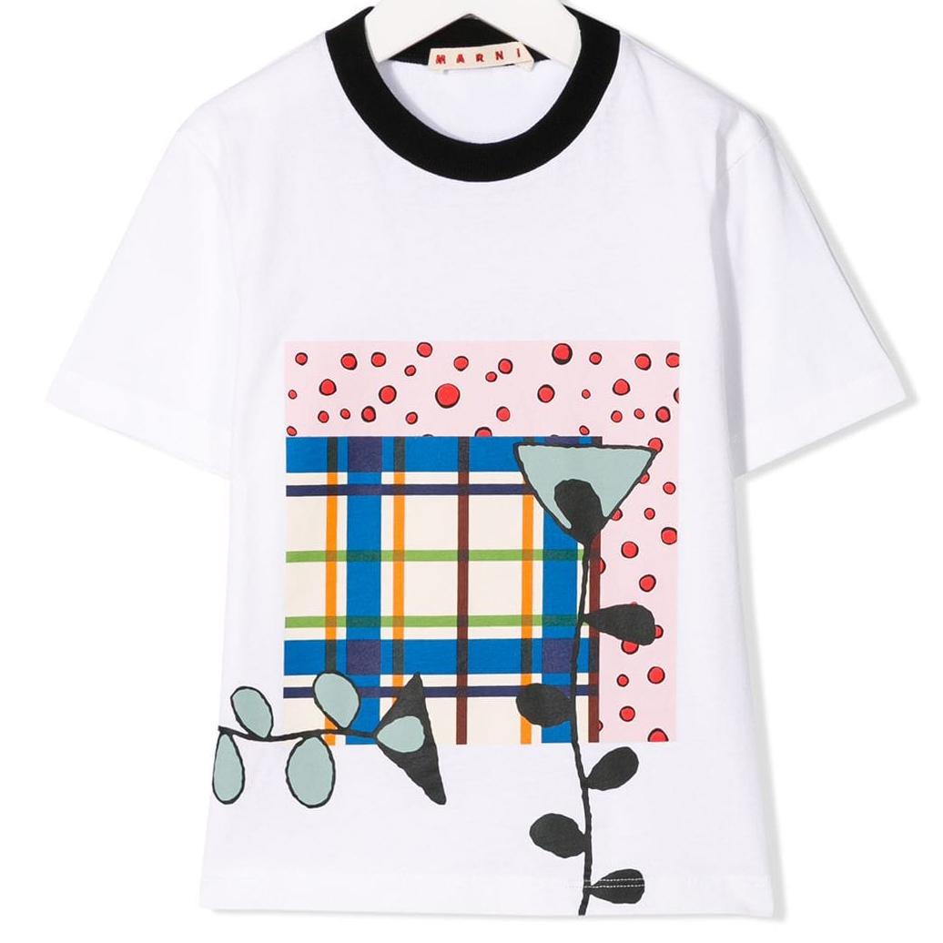 T-Shirt mit Print von Marni ss19
