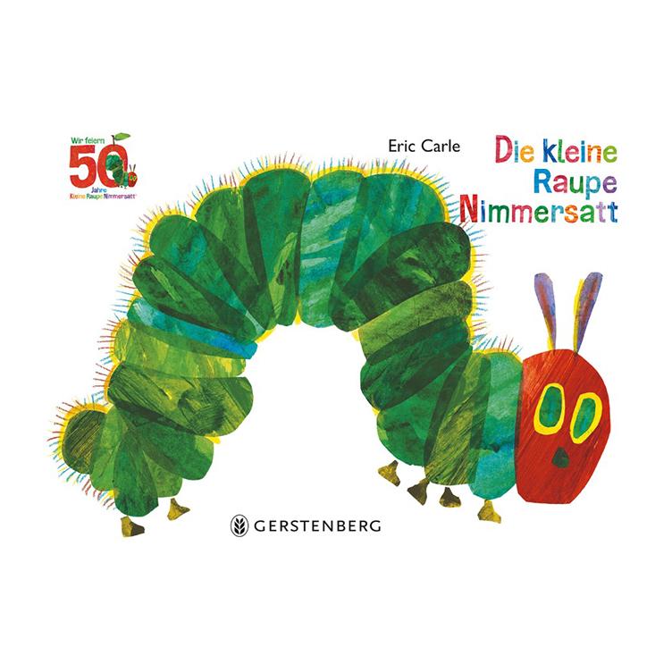 50 Jahre kleine Raupe Nimmersatt - 90 Jahre Eric Carle!