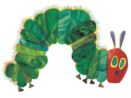 Kinderbuchklassiker: Die kleine Raupe Nimmersatt von Eric Carle