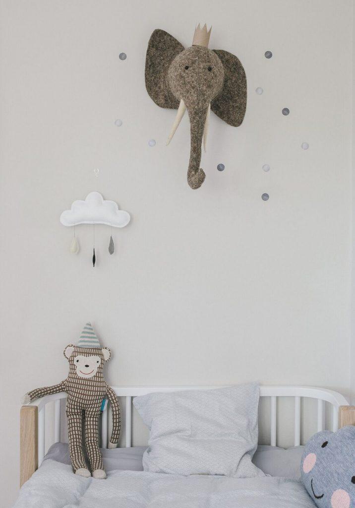 Kinderzimmer einrichten skandinavisc