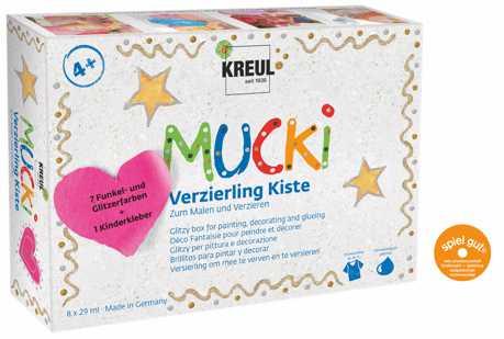 Mucki Verzierung Kiste