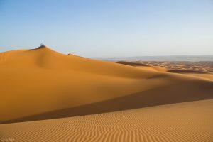 Wüste in Marokko