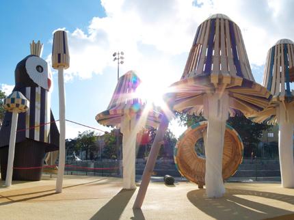 Spielplatz-Design: So cool und fantasievoll können Spielplätze aussehen!