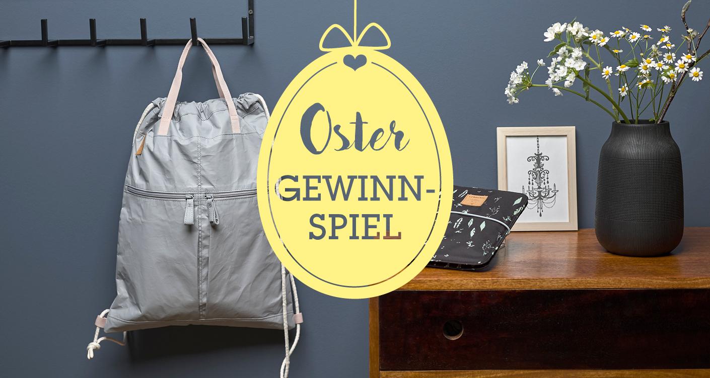 String Bag und Changing Pouch von LÄSSIG