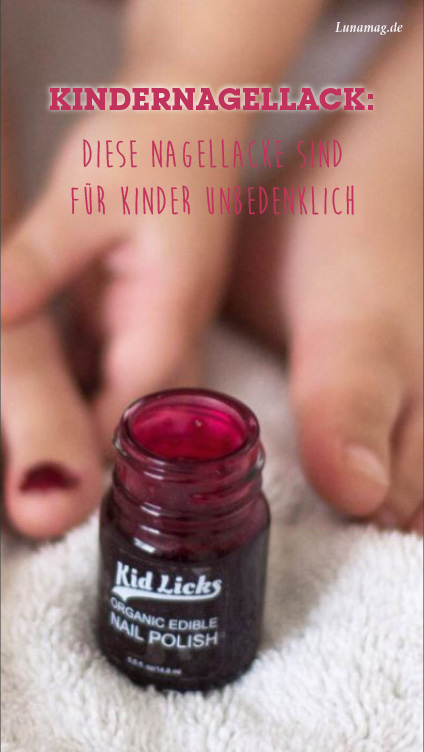 Pinterest Kindernagellack