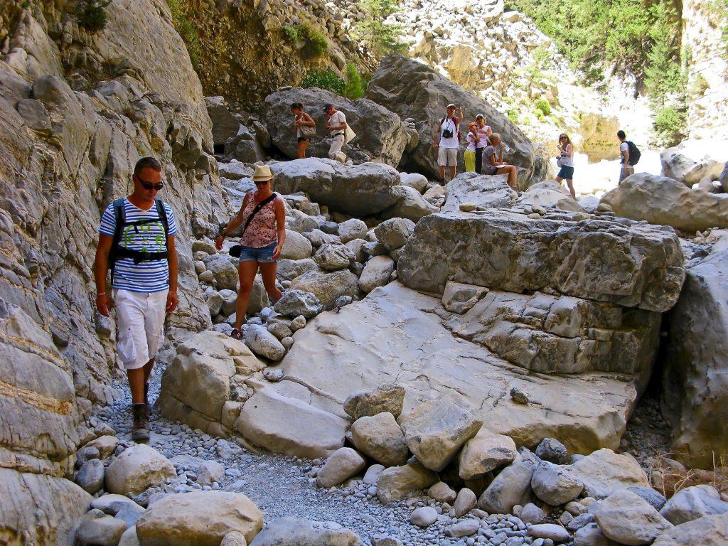 Kreta mit Kindern, Samaria Schlucht