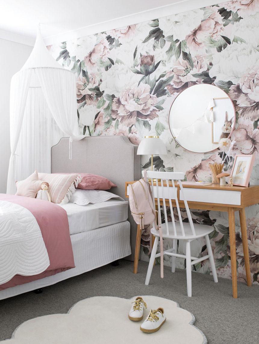 Einfach schön – Abziehbare Tapeten im Kinderzimmer