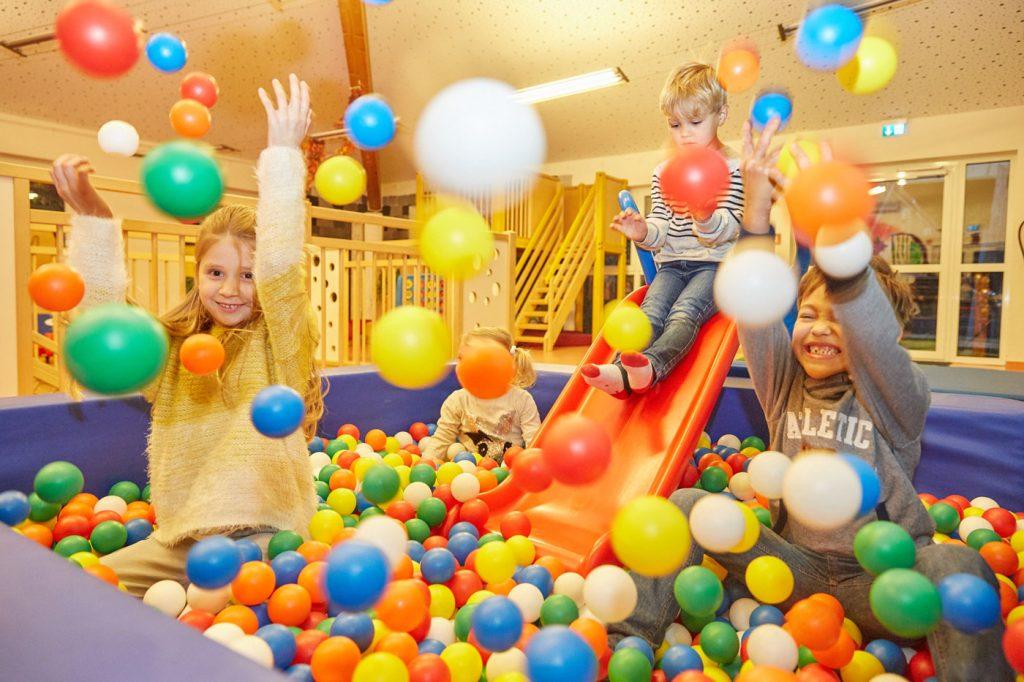 Kinder spielen im Familienhotel DAS LUDWIG