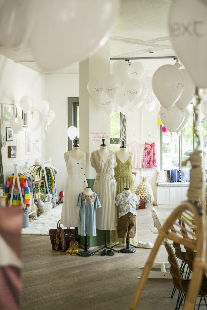 Next Event im Wunderhaus. Mode für Groß und Klein wird präsentiert.