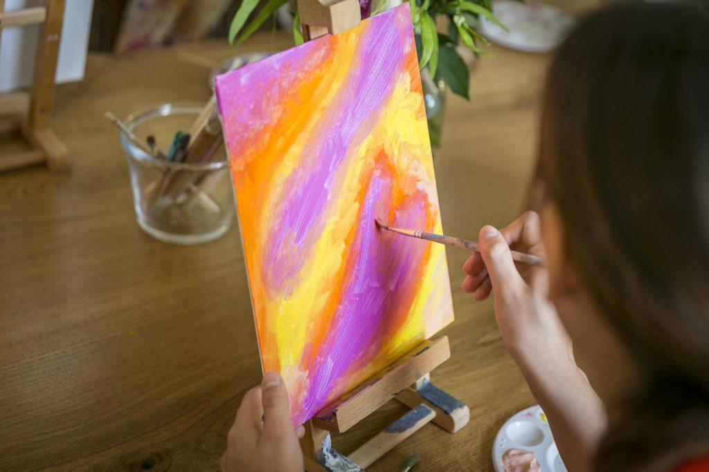 Next Event im Wunderhaus. Basteln und Malen mit Kindern.