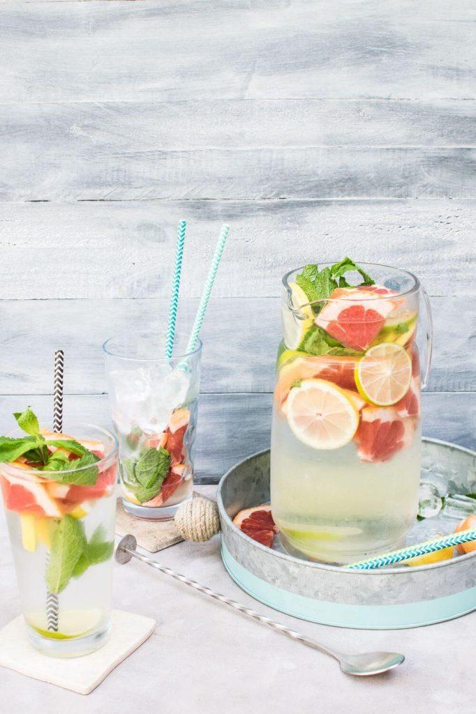 Gesunde Sommer-Getränke