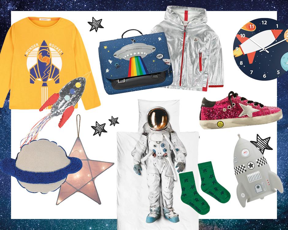 Weltraum, Astronauten & Raketen: 30 spacige Produkte für Kinder