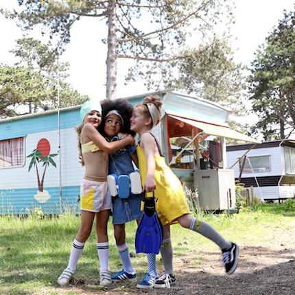 Kleine Camper – Neue Kinderbademode für den Sommer