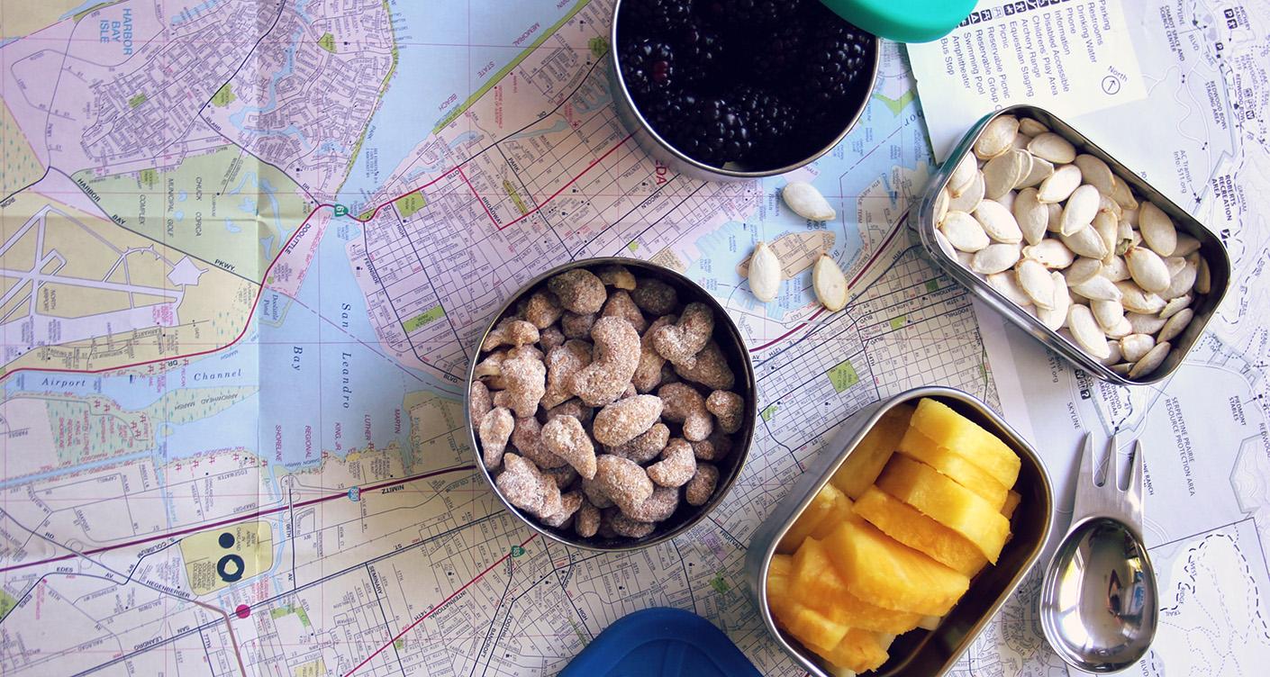 Gesunde Snacks: Einfache Ideen für unterwegs & zu Hause