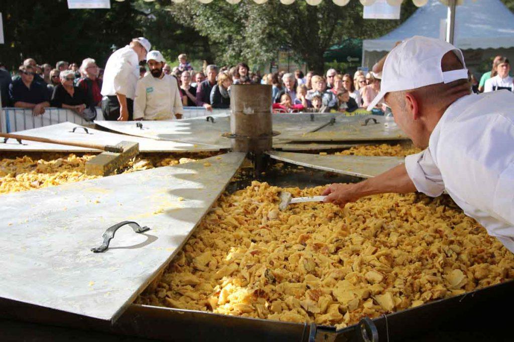 Kaiserschmarrenfest im Stubaital