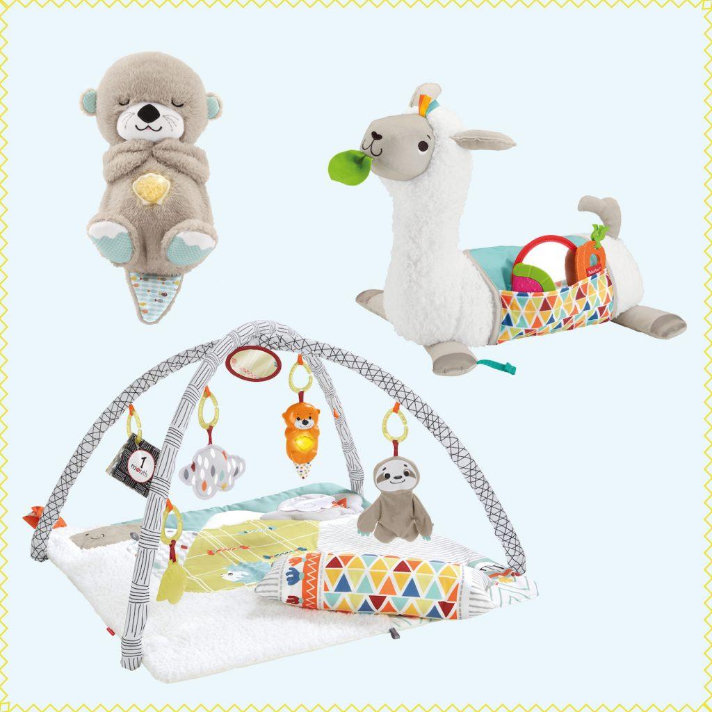 Spielzeug von Fisher-Price für die erste Zeit mit Baby
