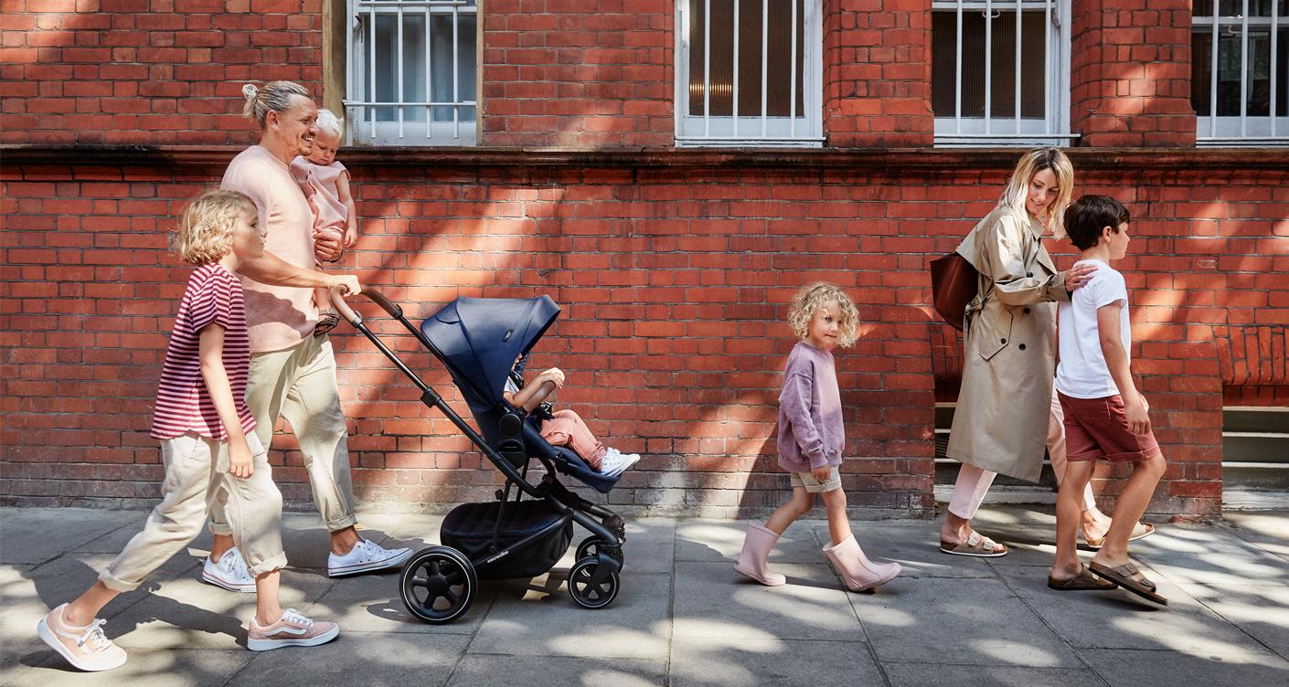 Stylischer Kinderwagen: Harvey² Premium von Easywalker