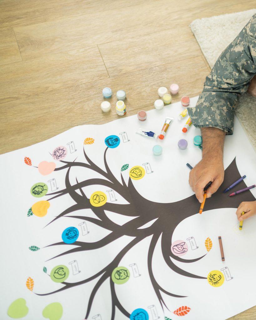 Montessoriübungen für 6-8-Jährige