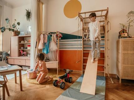 Buntes Kinderzimmer: Geschmackvoll und ohne Kitsch