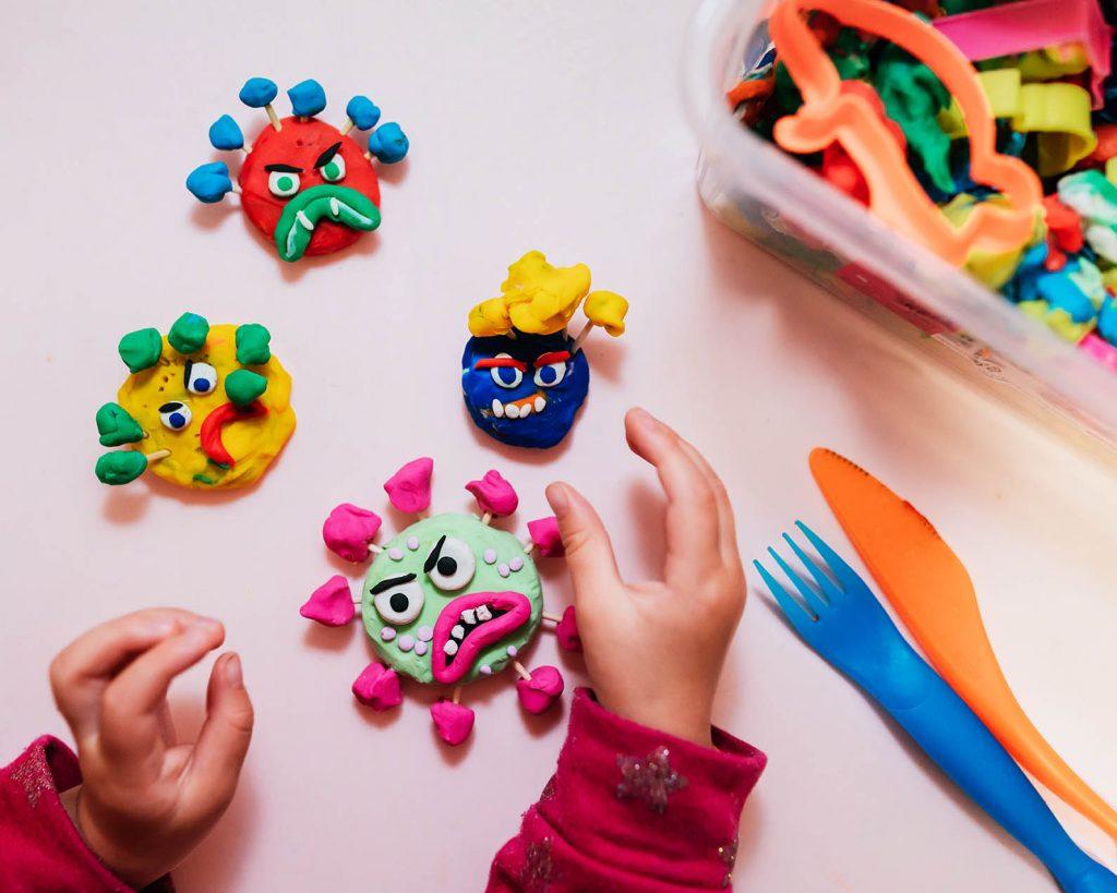 Corona Kinder Homeschooling