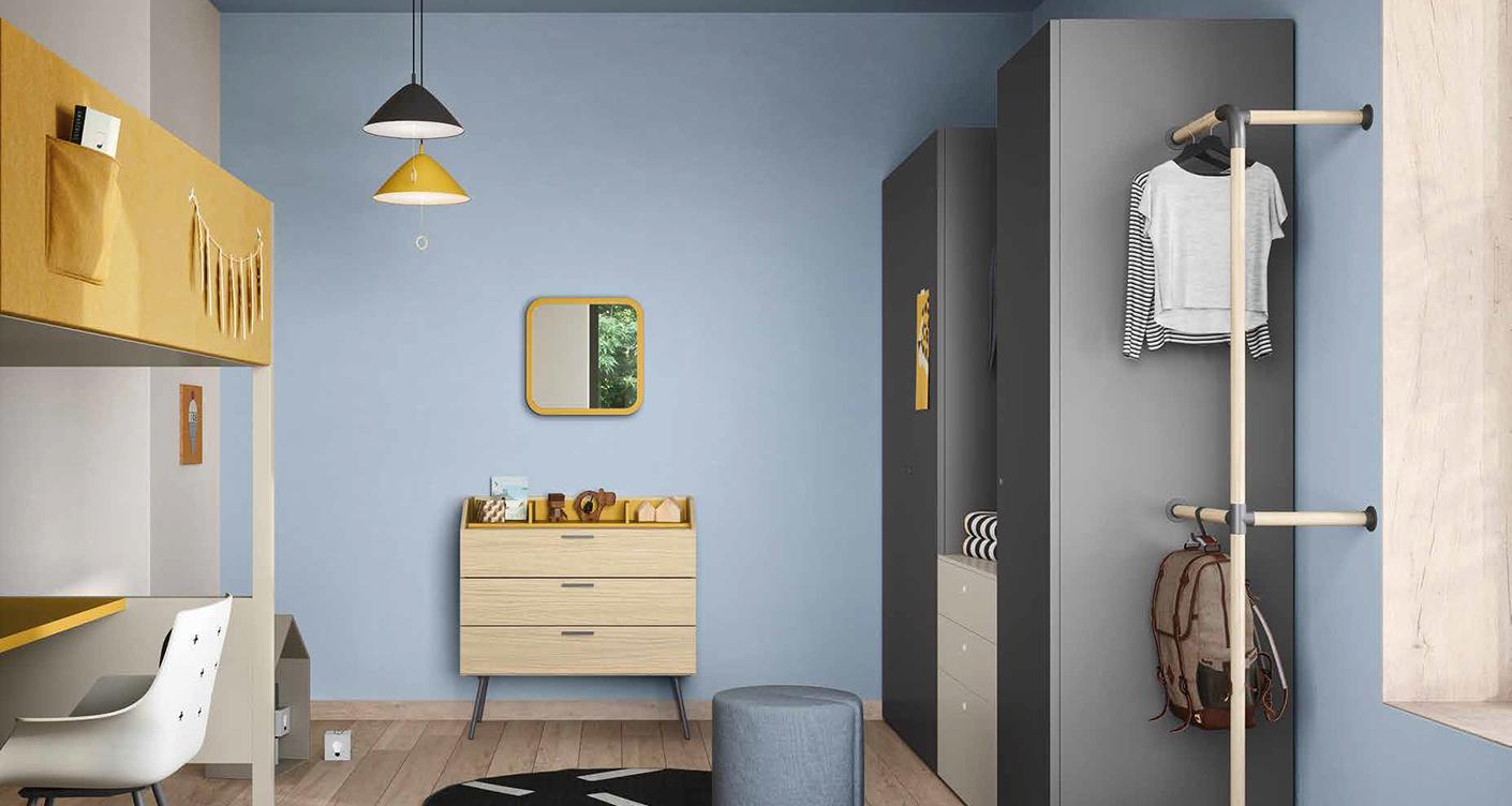 Pantone Farben 2021 – Kinderzimmer in Gelb & Grau