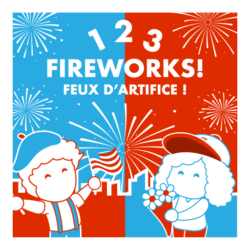 1, 2, 3, Fireworks! / 1, 2, 3, Feux d'artifice !