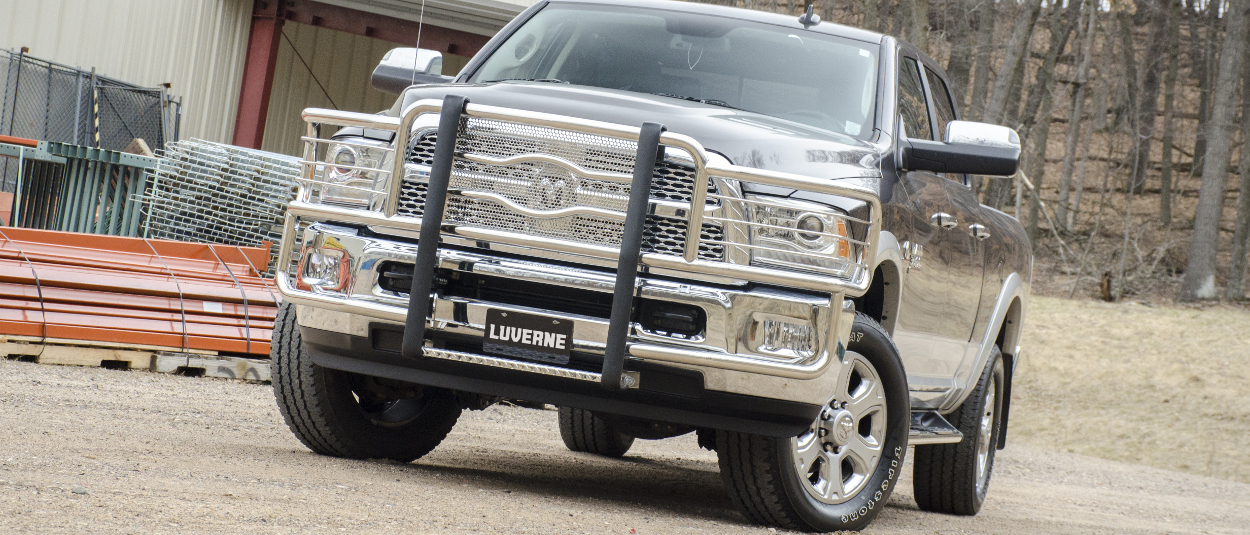 LUVERNE Prowler Max™ grille guard on 2015 Ram 3500