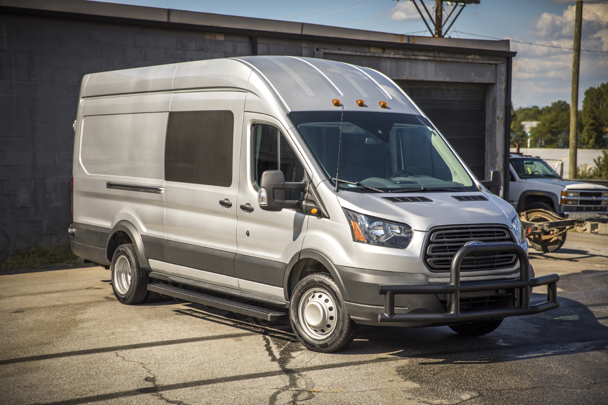 Learn about Grip Step™ Van Running Boards from LUVERNE