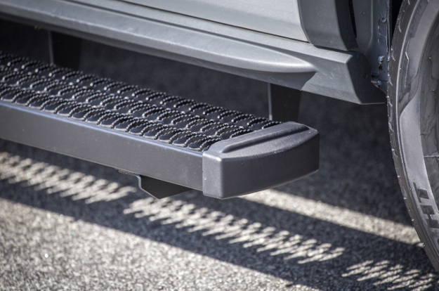 LUVERNE Grip Step™ cargo van running boards end cap