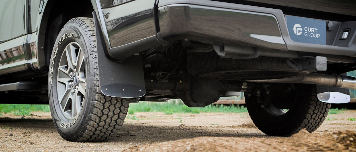 Luverne Textured Rubber Mud Guards Truck Mud Flaps