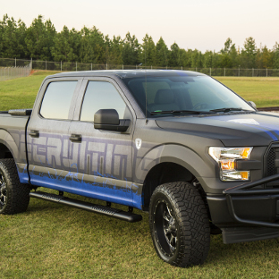 LUVERNE-Baja Guard™ and O-Mega II™ on Ford F150 police truck