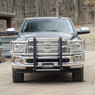 2015 Ram 3500 work truck with LUVERNE Prowler Max™ grille guard