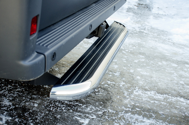 LUVERNE MegaStep® rear step on cargo van