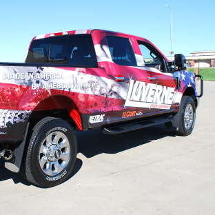 USA Ford F250 Super Duty with Side Entry Steps from LUVERNE