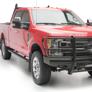 SlimGrip™ running boards & Journeyman™ bumper Ford F250 Super Duty