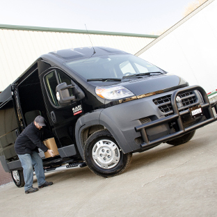 2017 Ram ProMaster 2500 work van with Tuff Guard® grille guard