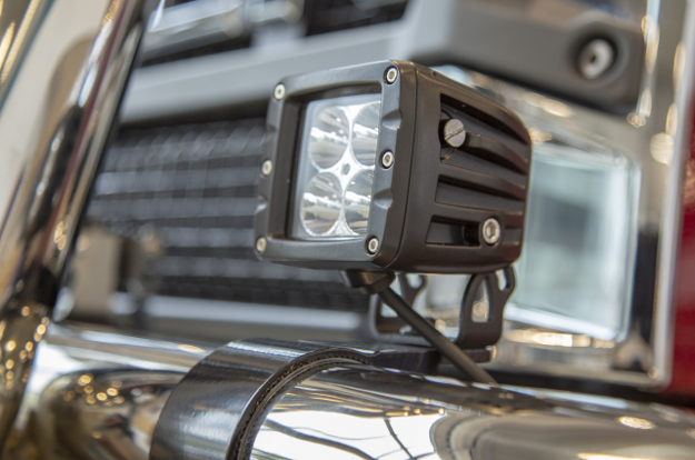 LUVERNE grille guard with LED light