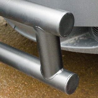LUVERNE Tuff Guard® van bumper guard with textured black finish