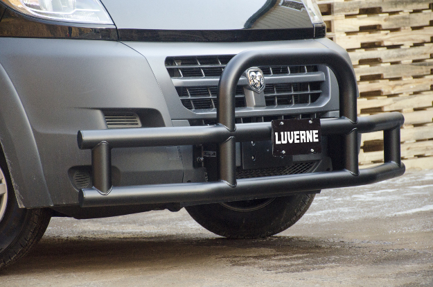 LUVERNE Tuff Guard® van bumper guard black on 2017 Ram ProMaster 2500