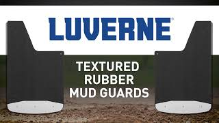 Textured Rubber Mud Guards Video