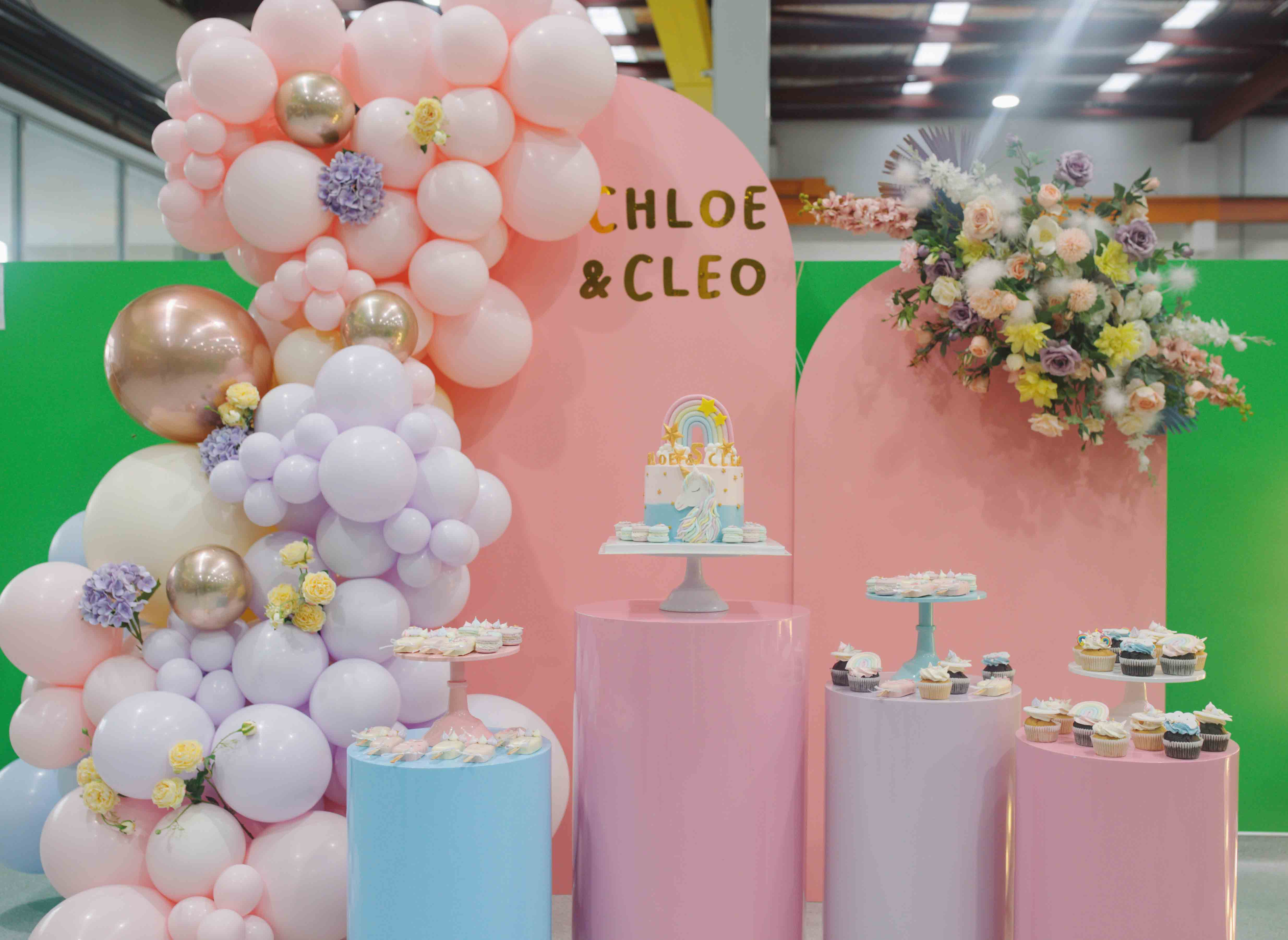 Styling and Hire by Luxe Dream Event Hire / Balloons by GEM Balloons