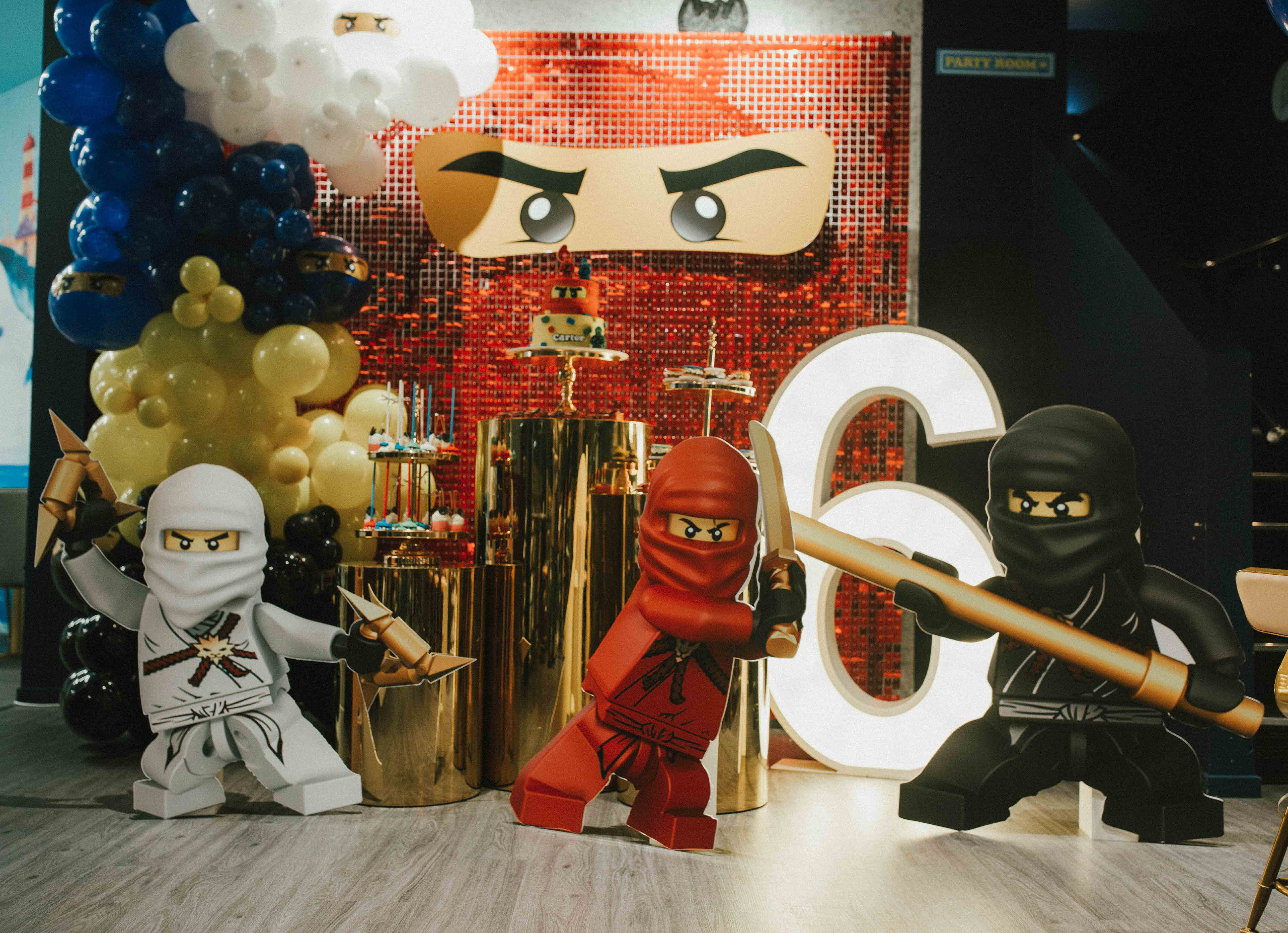 Ninjago Styling and Hire by Luxe Dream / Balloons by Bluebear